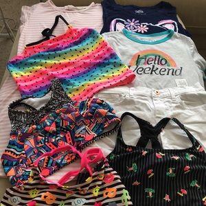 Girl's Mixed Summer Bundle   8 Pieces